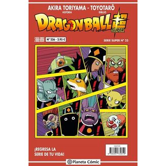 Dragon Ball Super Serie Super #25 Manga Oficial Planeta Comic
