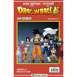 Dragon Ball Super Serie Super #31 Manga Oficial Planeta Comic (Spanish)