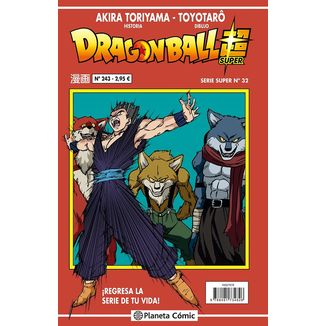 Dragon Ball Super Serie Super #32 Manga Oficial Planeta Comic (Spanish)