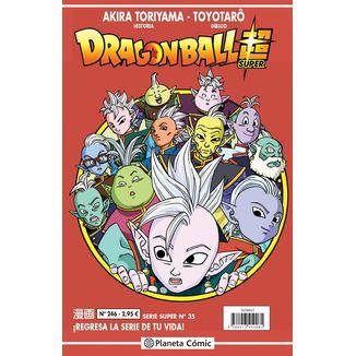 Dragon Ball Super Serie Super #35 Manga Oficial Planeta Comic (Spanish)