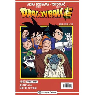 Dragon Ball Super Serie Super #45 Manga Oficial Planeta Comic