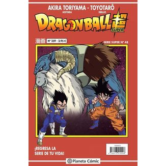 Dragon Ball Super Serie Super #48 Manga Oficial Planeta Comic