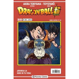 Dragon Ball Super Serie Super #50 Manga Oficial Planeta Comic