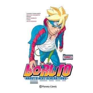 Boruto Naruto Next Generations #05 Manga Oficial Planeta Comic