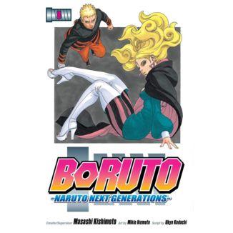 Boruto Naruto Next Generations #08 Manga Oficial Planeta Comic (spanish)
