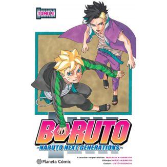 Boruto Naruto Next Generations #09 Manga Oficial Planeta Comic