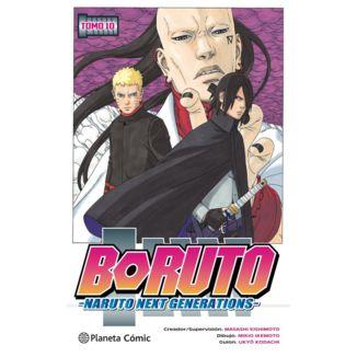 Boruto Naruto Next Generations #10 Manga Oficial Planeta Comic