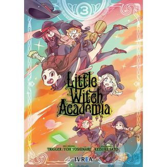 Little Witch Academia #03 Manga Oficial Ivrea