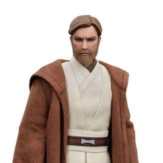 Obi Wan Kenobi Figure Star Wars The Clone Wars Sideshow Collectibles