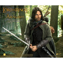 Figura Aragon Deluxe Version El Señor de los Anillos Real Master Series