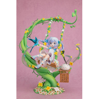 Chino Flower Swing Figure Is the Order a Rabbit?