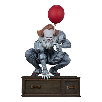 Pennywise Balloon Statue Stephen King's IT 2017