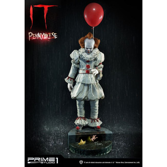 Pennywise Boat Statue Stephen King's IT 2017