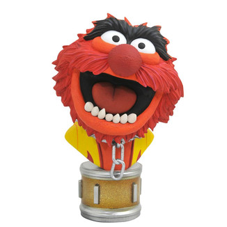 Animal Bust Muppets Show Legends in 3D