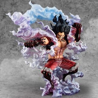 Figura Monkey D Luffy Gear 4 Snake Man SA Maximum One Piece P.O.P Excellent Model