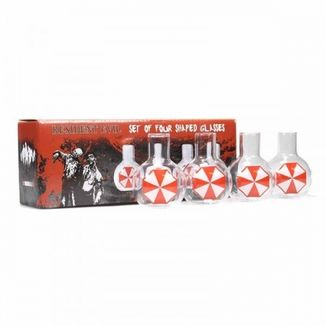 Umbrella Corp Shot Glasses Set Resident Evil