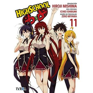 Highschool DxD #11 (Spanish)