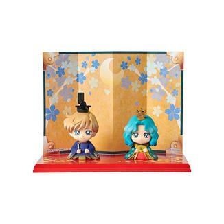 Hinamatsuri Haruka & Michiru Figure Sailor Moon Petit Chara Set