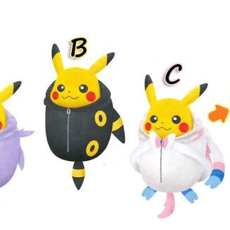Peluche Pikachu Nebukuro Collection Vol.3  Pokemon