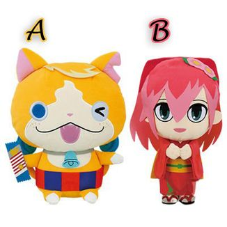 Plush Doll Tomnyan & Camellia Yo-kai Watch