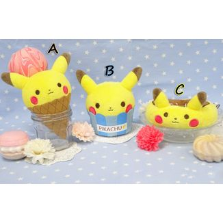 Plush Doll Pikachu Tea Party Collection Pokemon