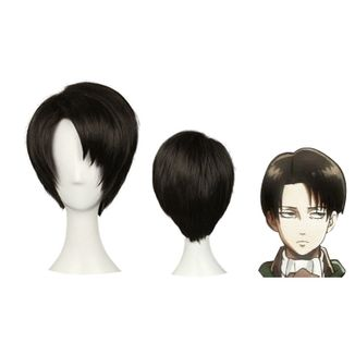 Levi Wig Attack on Titan