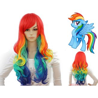 Peluca Rainbow Dash #02 My Little Pony