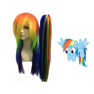 Peluca Rainbow Dash #03 My Little Pony