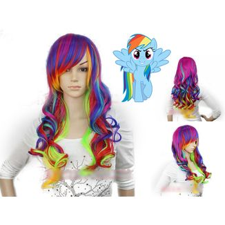 Peluca Rainbow Dash My Little Pony