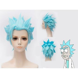 Peluca Rick Rick & Morty