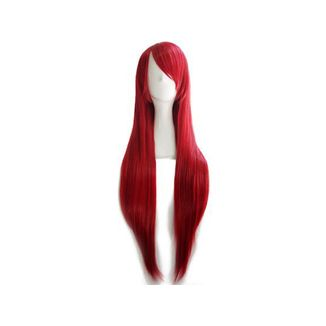 Wine Red 80 cms Wig