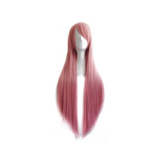 Smoke Pink 80 cms Wig