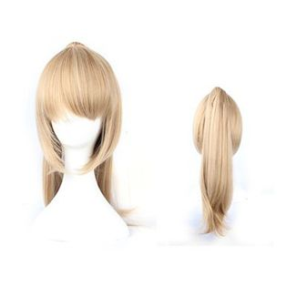 Blonde with ponytail Wig