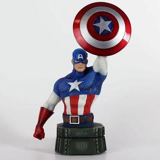 Busto Capitan America Marvel Comics