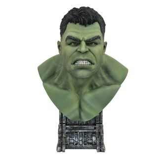 Busto Hulk Thor Ragnarok Legends in 3D