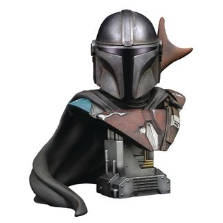 Mando Bust Star Wars The Mandalorian Legends in 3D