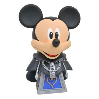 Busto Mickey Mouse Kingdom Hearts 3 Legends in 3D