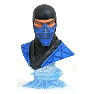 Busto Sub Zero Mortal Kombat 11 Legends in 3D