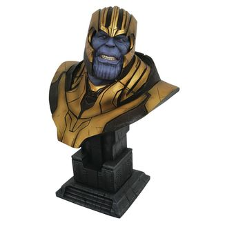 Busto Thanos Vengadores Infinity War Legends in 3D