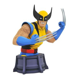 Busto Wolverine Marvel X-Men Animated Series