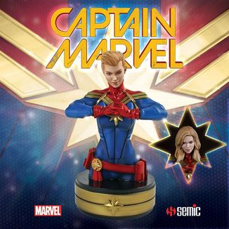 Busto Captain Marvel Marvel Comics