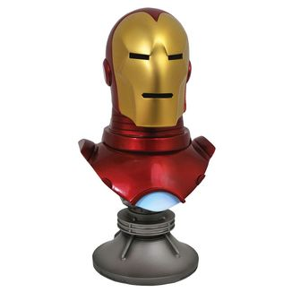 Iron Man Bust Marvel Comics Legends in 3D