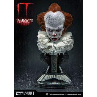 Busto Pennywise Serious Stephen King's It 2017
