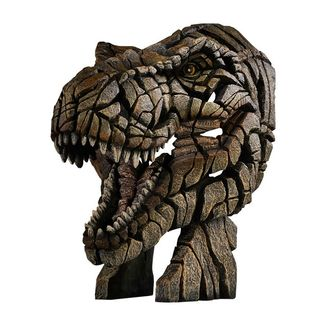 T-Rex Busto Edge Sculpture