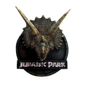 Busto Triceratops Jurassic Park