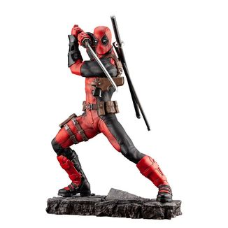Estatua Deadpool Marvel Comics Fine Art