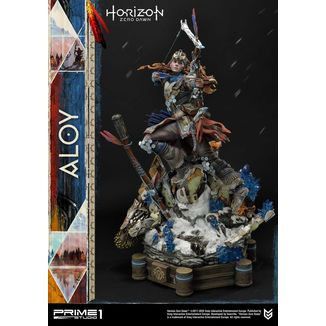 Aloy Shield Weaver Armor Set Statue Horizon Zero Dawn