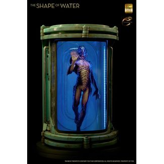 Amphibian Man Statue The Shape of Water Maquette