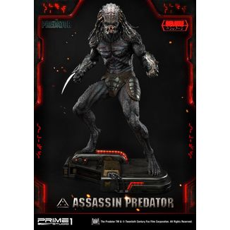 Estatua Assassin Predator Deluxe Version Depredador