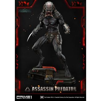 Estatua Assassin Predator Depredador
